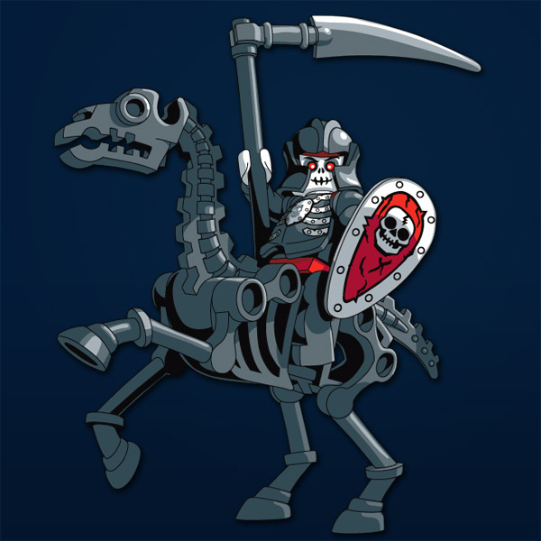 The Black Knight Skeleton