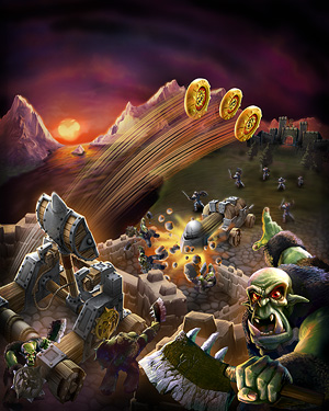 Battleground Attack Pack: Battering Ram and Triple Catapult