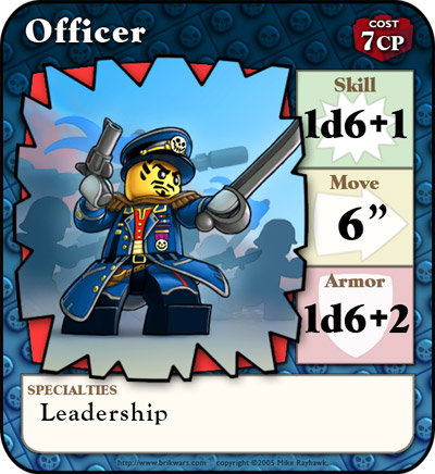 Officer card